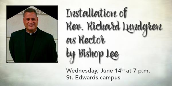 Installation of Rector Richard Lundgren