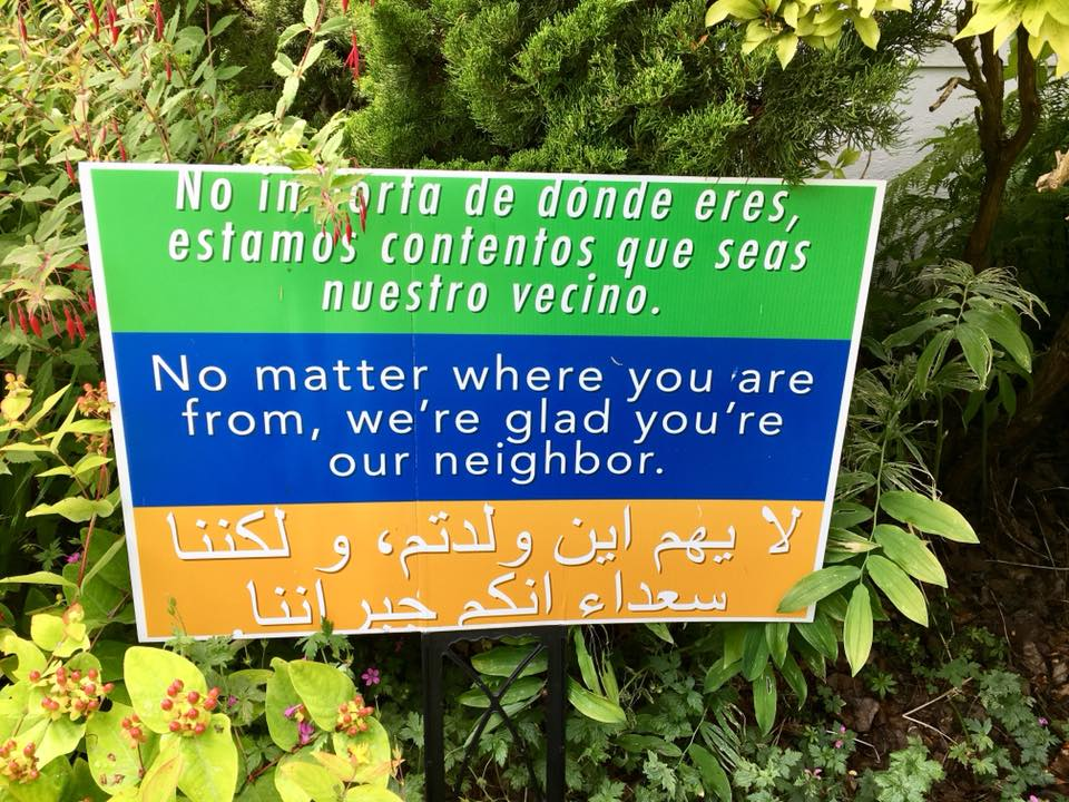 Everyone is our Neighbor
